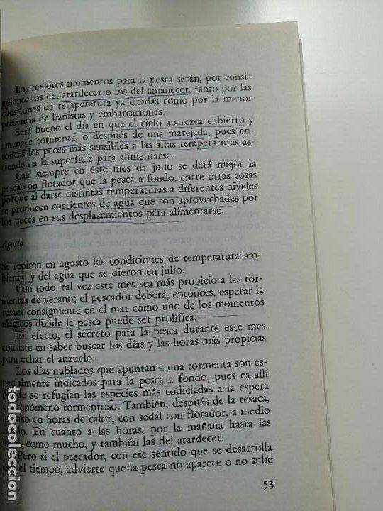 Libros de segunda mano: 100 TRUCOS DEL PESCADOR DE MAR - EQUIPO DE EXPERTOS CIENTIPESCA. EDITORIAL VECCHI 1992 - Foto 5 - 261153335