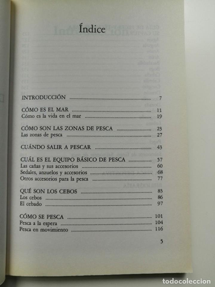 Libros de segunda mano: 100 TRUCOS DEL PESCADOR DE MAR - EQUIPO DE EXPERTOS CIENTIPESCA. EDITORIAL VECCHI 1992 - Foto 7 - 261153335