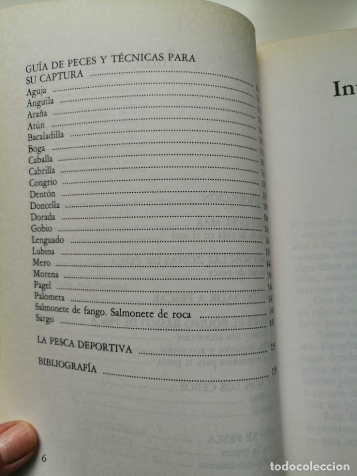 Libros de segunda mano: 100 TRUCOS DEL PESCADOR DE MAR - EQUIPO DE EXPERTOS CIENTIPESCA. EDITORIAL VECCHI 1992 - Foto 8 - 261153335