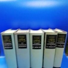 Libros de segunda mano: HISTORIA GENERAL DE LAS CIENCIAS. RENE TATON. 6 TOMOS. COMPLETA. EDICIONES DESTINO. 1985.. Lote 261353925