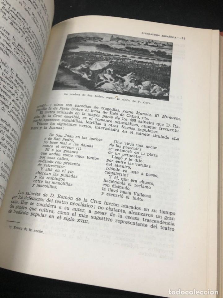 Libros de segunda mano: Historia De La Literatura Española. José Garcia Lopez. Ediciones Teide. 1ª edición 1948 - Foto 4 - 261455535