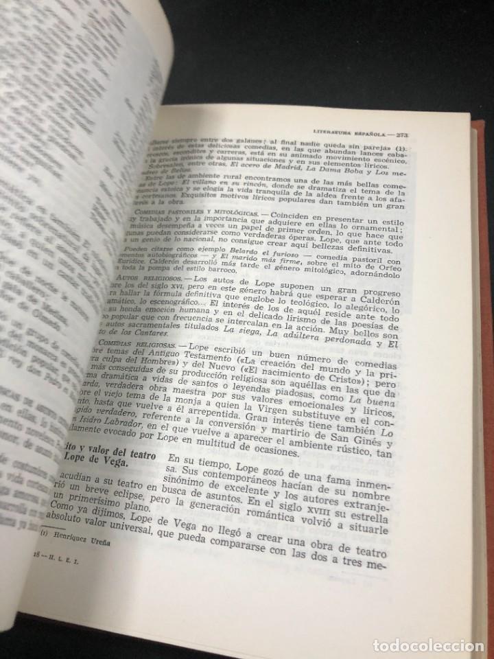 Libros de segunda mano: Historia De La Literatura Española. José Garcia Lopez. Ediciones Teide. 1ª edición 1948 - Foto 5 - 261455535