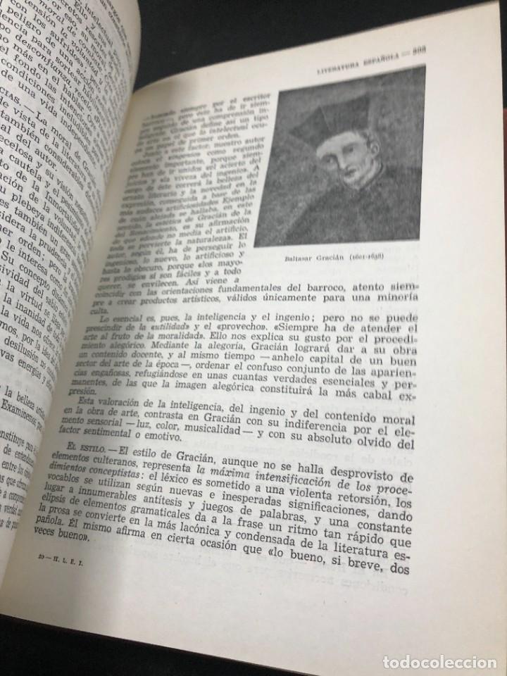 Libros de segunda mano: Historia De La Literatura Española. José Garcia Lopez. Ediciones Teide. 1ª edición 1948 - Foto 6 - 261455535