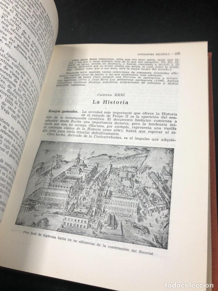 Libros de segunda mano: Historia De La Literatura Española. José Garcia Lopez. Ediciones Teide. 1ª edición 1948 - Foto 7 - 261455535