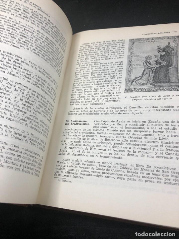 Libros de segunda mano: Historia De La Literatura Española. José Garcia Lopez. Ediciones Teide. 1ª edición 1948 - Foto 11 - 261455535