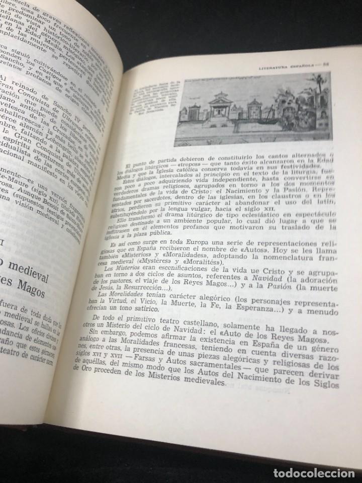 Libros de segunda mano: Historia De La Literatura Española. José Garcia Lopez. Ediciones Teide. 1ª edición 1948 - Foto 12 - 261455535