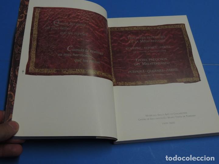 Libros de segunda mano: TEINTURES PRÉCIEUSES DE LA MÉDITERRANÉE. TINTES PRECIOSOS DEL MEDITERRÁNEO - Foto 3 - 261561195