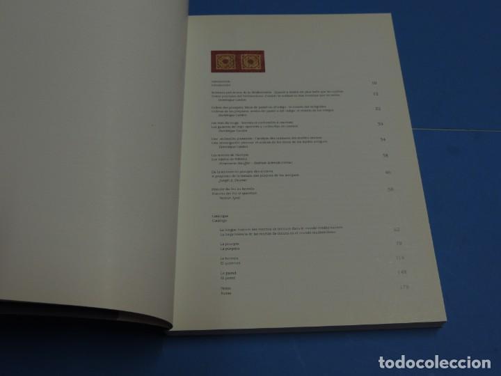 Libros de segunda mano: TEINTURES PRÉCIEUSES DE LA MÉDITERRANÉE. TINTES PRECIOSOS DEL MEDITERRÁNEO - Foto 4 - 261561195