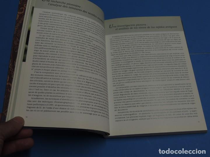 Libros de segunda mano: TEINTURES PRÉCIEUSES DE LA MÉDITERRANÉE. TINTES PRECIOSOS DEL MEDITERRÁNEO - Foto 8 - 261561195
