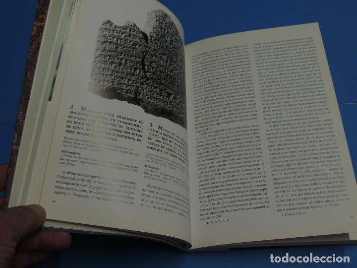 Libros de segunda mano: TEINTURES PRÉCIEUSES DE LA MÉDITERRANÉE. TINTES PRECIOSOS DEL MEDITERRÁNEO - Foto 11 - 261561195