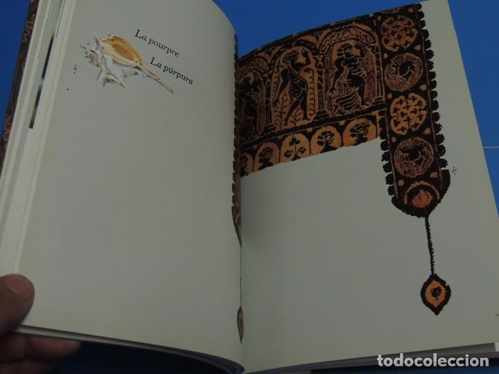 Libros de segunda mano: TEINTURES PRÉCIEUSES DE LA MÉDITERRANÉE. TINTES PRECIOSOS DEL MEDITERRÁNEO - Foto 12 - 261561195