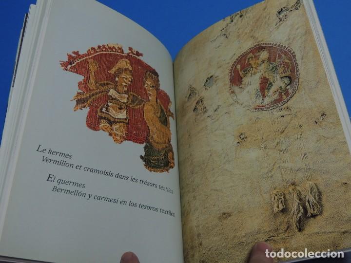 Libros de segunda mano: TEINTURES PRÉCIEUSES DE LA MÉDITERRANÉE. TINTES PRECIOSOS DEL MEDITERRÁNEO - Foto 14 - 261561195