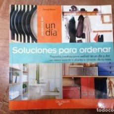 Libros de segunda mano: SOLUCIONES PARA ORDENAR. STEWART WALTON. Lote 261562665
