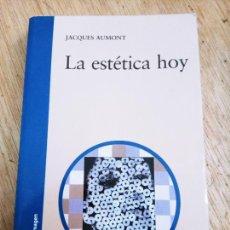 Libros de segunda mano: JACQUES AUMONT: LA ESTÉTICA HOY (EDICIONES CÁTEDRA. COL. SIGNO E IMAGEN). Lote 261565620