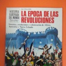 Libros de segunda mano: LA ERA DE LAS REVOLUCIONES - HISTORIA ILUSTRADA DEL MUNDO PARA NIÑOS. Lote 261578745