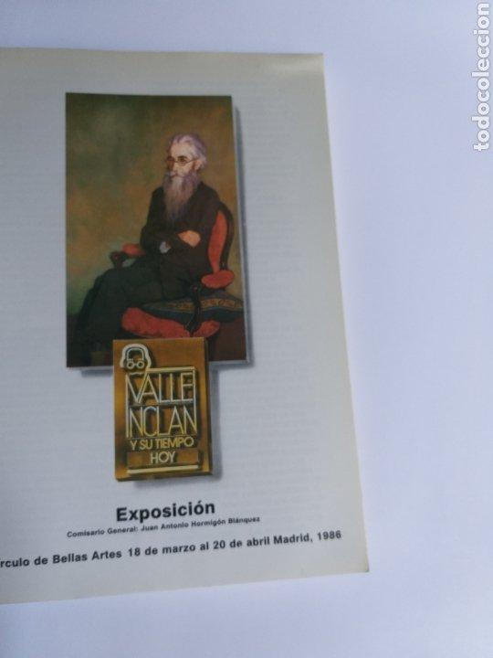 Libros de segunda mano: Valle Inclán y su tiempo hoy. Catálogo exposición. Madrid 1986 . . Literatura ensayo - Foto 6 - 261587045