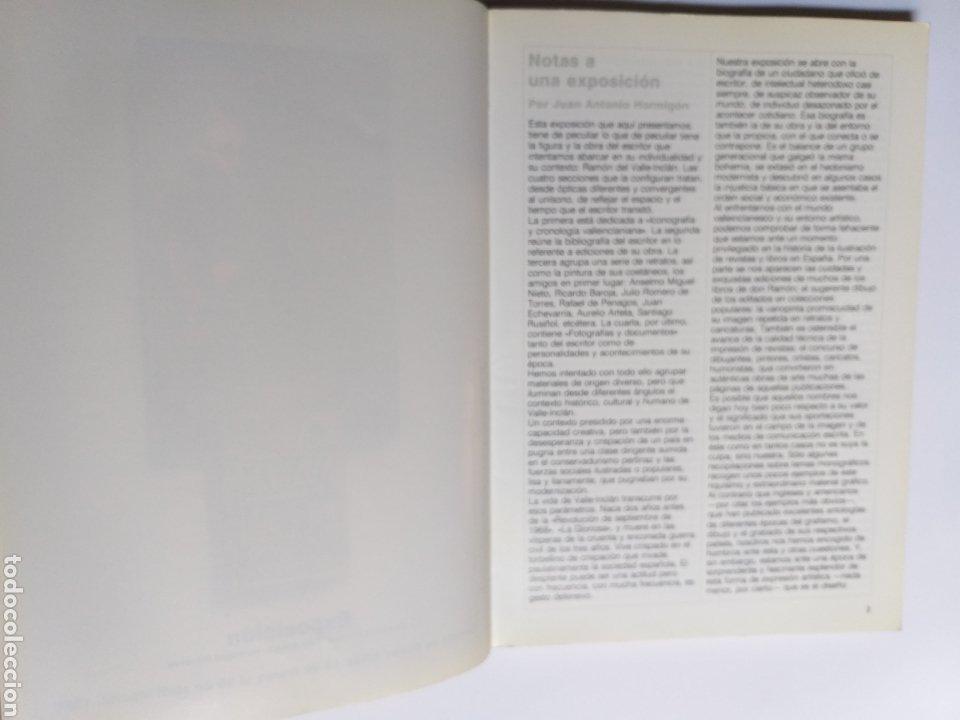 Libros de segunda mano: Valle Inclán y su tiempo hoy. Catálogo exposición. Madrid 1986 . . Literatura ensayo - Foto 7 - 261587045