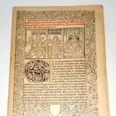 Libros de segunda mano: TORRE, ALFONSO DE LA. VISION DELEITABLE. REPRODUCCIÓN FACSÍMIL, 1489. 1983.. Lote 261587540