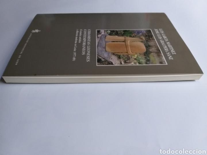 Libros de segunda mano: Ceramistas leoneses contemporáneos. Cerámica artística y alfarería moderna en León Luis García Martí - Foto 4 - 261619495