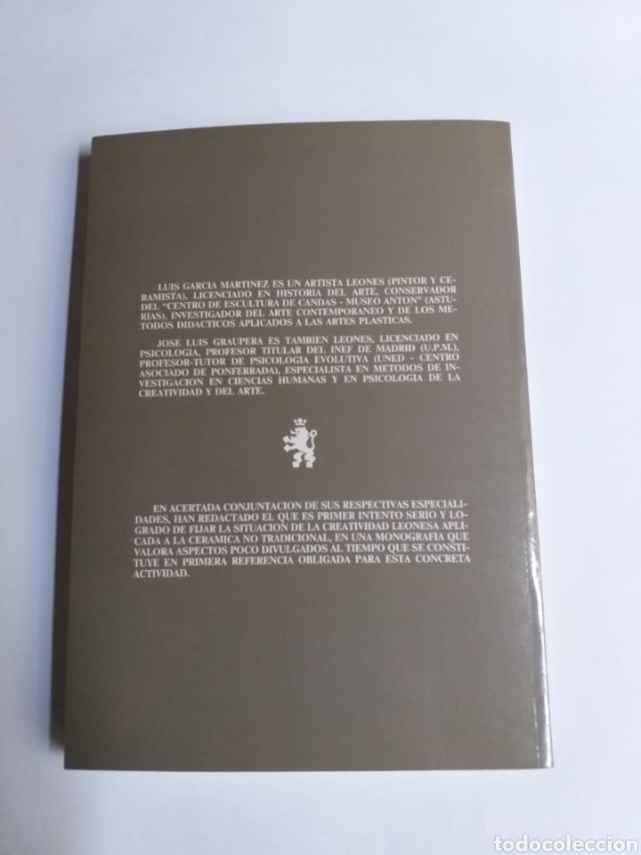 Libros de segunda mano: Ceramistas leoneses contemporáneos. Cerámica artística y alfarería moderna en León Luis García Martí - Foto 5 - 261619495