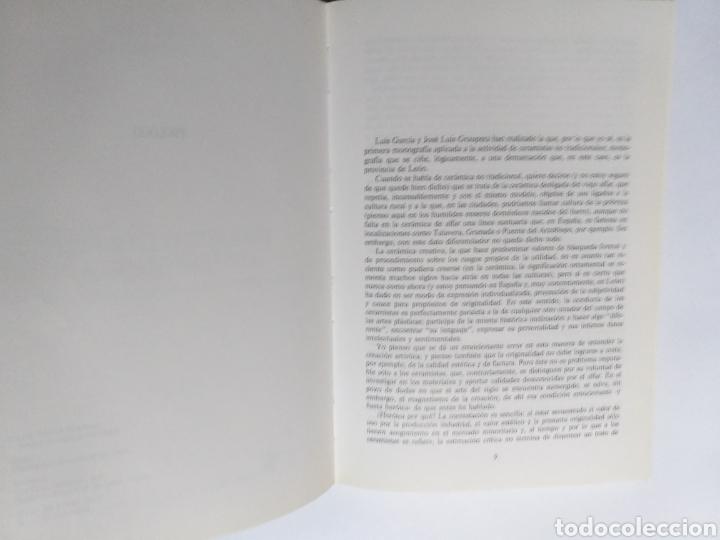 Libros de segunda mano: Ceramistas leoneses contemporáneos. Cerámica artística y alfarería moderna en León Luis García Martí - Foto 9 - 261619495