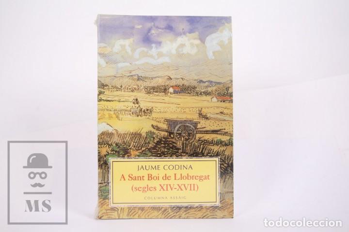 LIBRO EN CATALÁN - A SANT BOI DEL LLOBREGAT SEGLES XIV-XVII - JAUME CODINA - ED. COLUMNA ASSAIG 1999 (Libros de Segunda Mano - Historia - Otros)