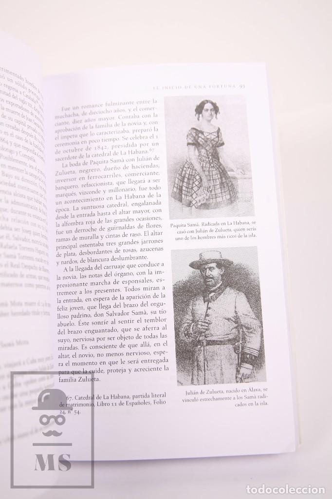 Libros de segunda mano: Libro - La Saga Cubana de los Samà 1794-1933 - Dolores M. Pérez Tarrau - Ed. Viena 1ª Ed 2007 - Foto 3 - 261802810