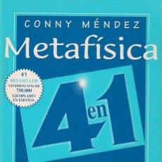 Libros de segunda mano: METAFÍSICA (CONNY MÉMDEZ). Lote 261844030