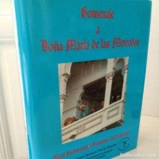 Libros de segunda mano: HOMENAJE A MARIA DE LAS MERCEDES, TOROS-DERECHO / BULLFIGHTING-LAW, EDICION LIMITADA Y NUMERADA: 120. Lote 261896255