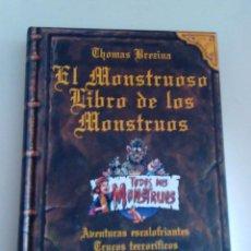 Libros de segunda mano: EL MONSTRUOSO LIBRO DE LOS MONSTRUOS THOMAS BREZINA 1998. Lote 261964270