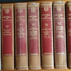 Libros de segunda mano: HISTORIA DE CATALUNYA OBRA COMPLETA 10 TOMOS MÁS EL DICCIONARI D'HISTÒRIA DE CATALUNYA EDICIONS 62. Lote 262069165