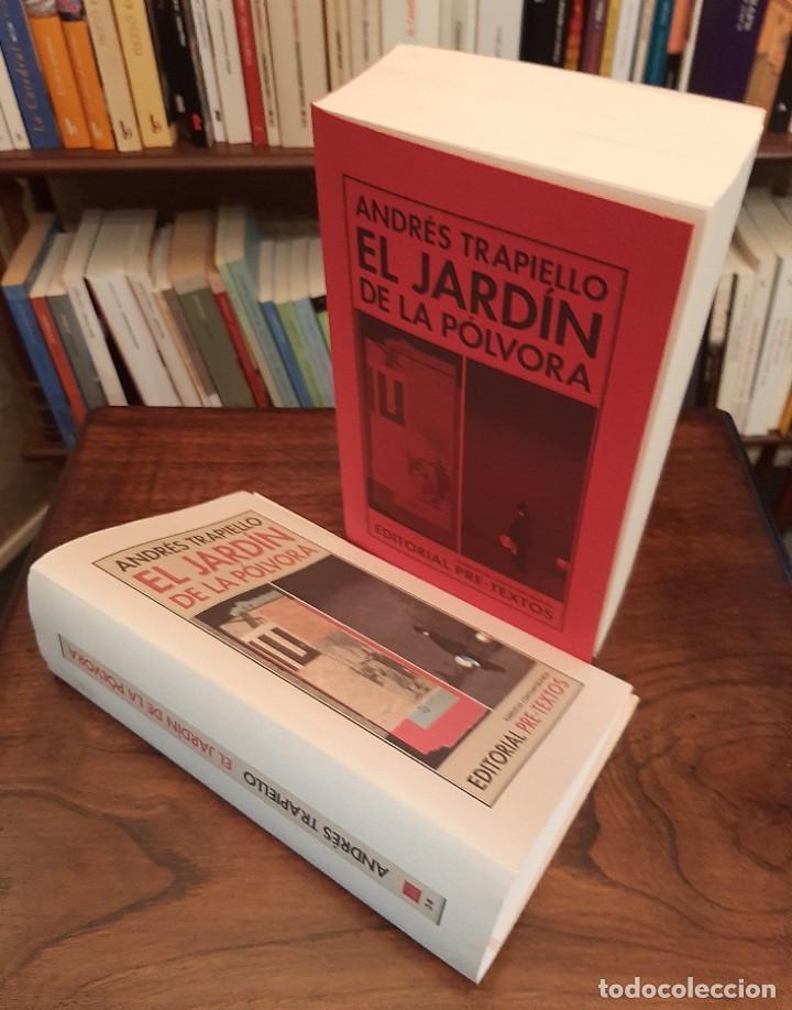 """ANDRÉS TRAPIELLO: """"EL JARDÍN DE LA PÓLVORA"""" (Libros de Segunda Mano (posteriores a 1936) - Literatura - Otros)"""