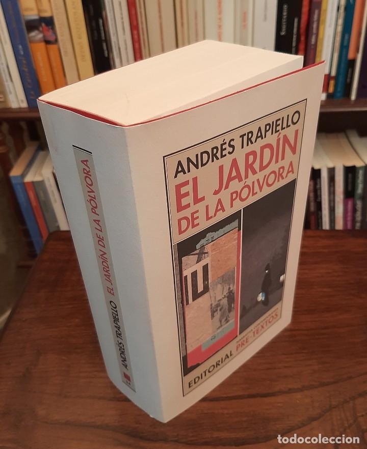 """Libros de segunda mano: ANDRÉS TRAPIELLO: """"EL JARDÍN DE LA PÓLVORA"""" - Foto 2 - 262106045"""