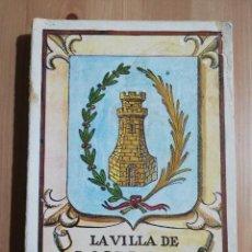 Libros de segunda mano: LA VILLA DE MONTÁN (VALERIANO HERRERO HERRERO). Lote 262174155