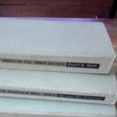 Libros de segunda mano: 3. LIBROS OBRA INOLVIDABLE. Lote 262213460