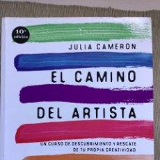 Livres d'occasion: LIBRO: EL CAMINO DEL ARTISTA.. Lote 262261890