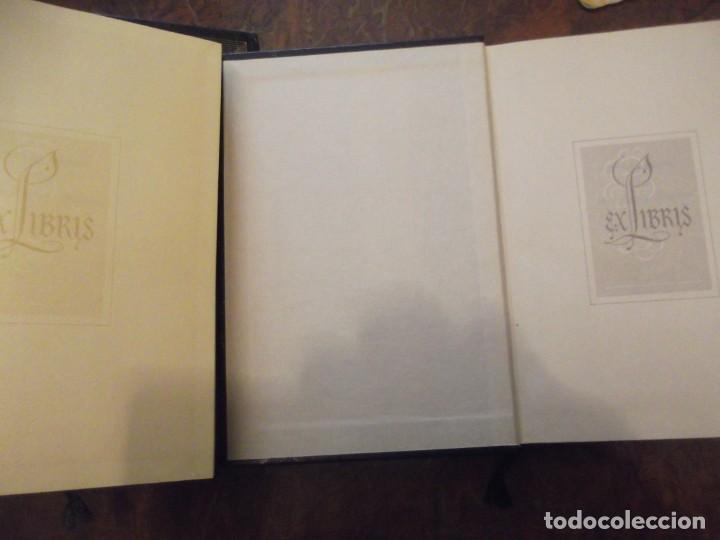 Libros de segunda mano: Lote de 6 Ex libris con 4 tomos cada uno - Foto 7 - 262321970