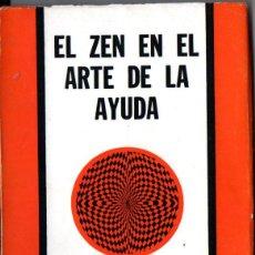 Libros de segunda mano: DAVID BRANDON : EL ZEN EN EL ARTE DE LA AYUDA (DÉDALO, 1979). Lote 262333075