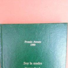 Libros de segunda mano: SOY LA MADRE. CARMEN CONDE. EDITORIAL PLANETA.. Lote 262392665