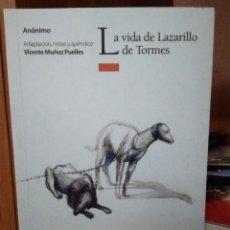 Libros de segunda mano: LA VIDA DE LAZARILLO DE TORMES, ADAPTACIÓN, NOTAS Y APÉNDICE VICENTE MUÑOZ PUELLES, EDITORIAL OXFORD. Lote 262426215