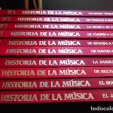 Libros de segunda mano: HISTORIA DE LA MUSICA 10 TOMOS OCEANO-EXITO. Lote 262536710