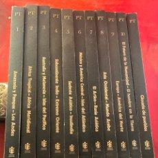 Libros de segunda mano: COLECCIÓN PUEBLOS DE LA TIERRA. 11 TOMOS. Lote 262550245
