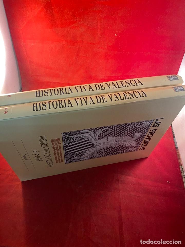 Libros de segunda mano: HISTORIA VIVA DE VALENCIA- 2 Volúmenes LAS PROVINCIAS 1958 - Foto 2 - 262552925