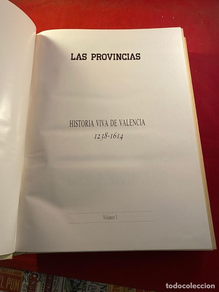 Libros de segunda mano: HISTORIA VIVA DE VALENCIA- 2 Volúmenes LAS PROVINCIAS 1958 - Foto 4 - 262552925