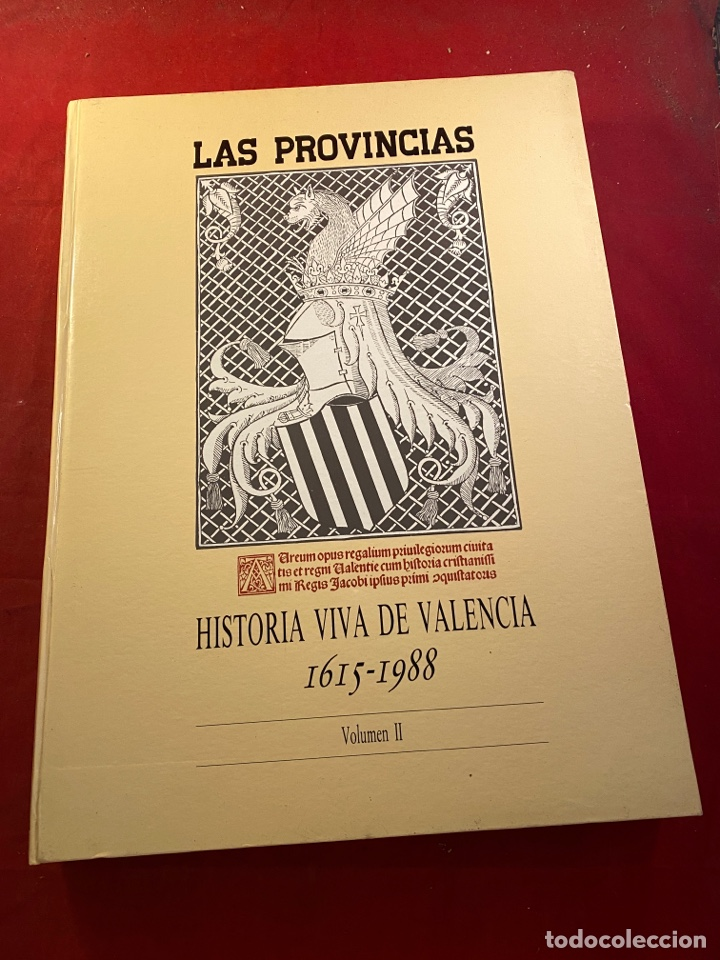 Libros de segunda mano: HISTORIA VIVA DE VALENCIA- 2 Volúmenes LAS PROVINCIAS 1958 - Foto 7 - 262552925