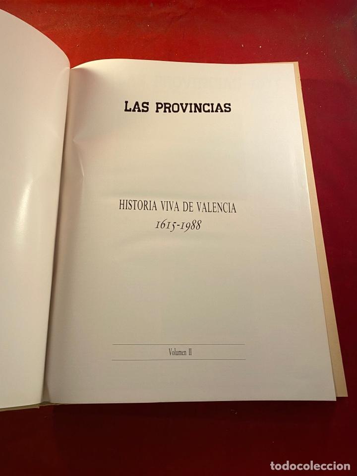 Libros de segunda mano: HISTORIA VIVA DE VALENCIA- 2 Volúmenes LAS PROVINCIAS 1958 - Foto 8 - 262552925