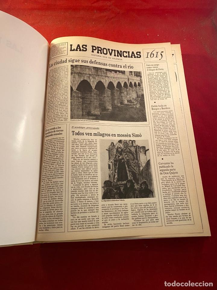 Libros de segunda mano: HISTORIA VIVA DE VALENCIA- 2 Volúmenes LAS PROVINCIAS 1958 - Foto 9 - 262552925