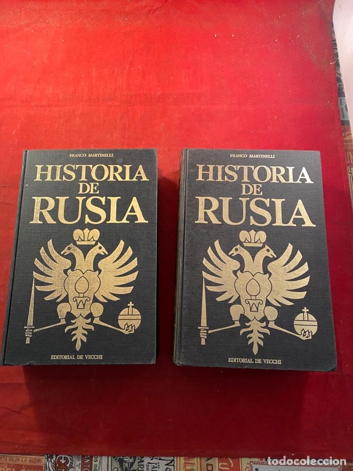 Libros de segunda mano: HISTORIA DE RUSIA Franco Martinelli - Foto 5 - 262554250