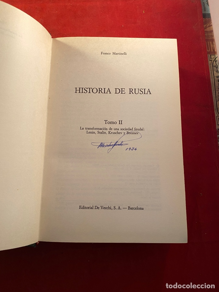 Libros de segunda mano: HISTORIA DE RUSIA Franco Martinelli - Foto 6 - 262554250