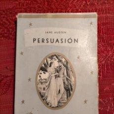 Libros de segunda mano: PERSUASIÓN POR JANE AUSTEN . BIBLIOTECA PRIMOR EDITORIAL JUVENTUD ARGENTINA 48. Lote 262596095
